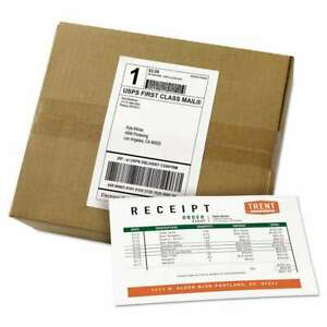 Avery Shipping Labels With Paper Receipt Bulk Pack 5 1 16 X 7 5 072782279028