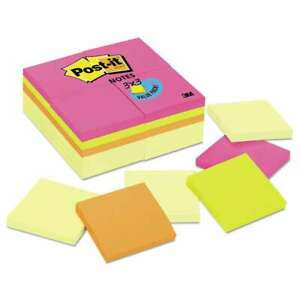 Post it Notes Original Pads Value Pack 3 X 3 Canary Yellow cap 051131935297