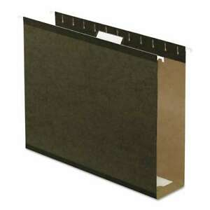 Pendaflex Reinforced 3 Extra Capacity Hanging Folders Letter 078787473171