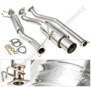 02 06 Acura Rsx Type S Dc Dc 5 N1 Style Catback Exhaust Muffler W 4 25 Tip