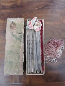 Antique Embroidery Threads Brainerd Armstrong Asiatic Filo Selle Huge Lot