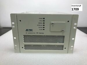 Adtec Tr 2000 ei1 mt Rf Generator 2kw 13 56mhz used Working 90 Day Warranty