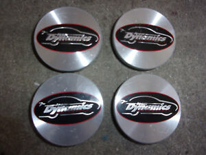 Set Of Team Dynamics Wheel Center Caps 2 3 8 Inch