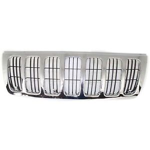 For 1999 2003 Jeep Grand Cherokee Grille Assembly 2002 2001 2000