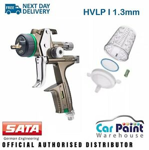 Sata Jet X 5500 Hvlp Digital 1 3mm Gravity Spray Gun I Nozzle Base Basecoat