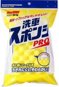 Soft 99 Car Wash Sponge Pro 04045 Made In Japan