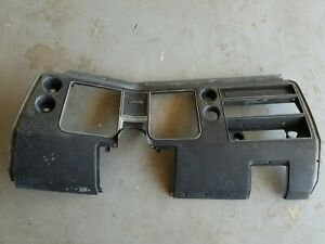 1968 Chevrolet Chevelle Malibu Dash Housing Without Air Conditioning Used