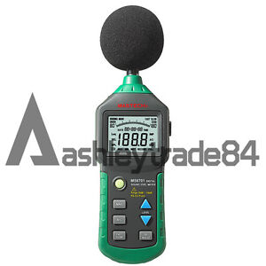 Ms6701 Mastech Digital Sound Level Meter Decibel Tester With Rs232 Interface