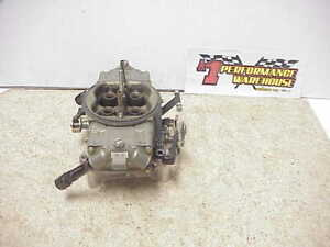 Braswell Holley Hp 830 Cfm Annular Boosters Gas Racing Carburetor Nascar Dei30