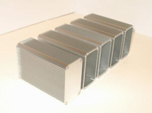 Aluminum Box Enclosure Electronic Cases 115mm X 80 Mm X 45 Mm l w h Qty 5