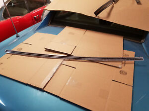 Rear Ribbed Molding Under Window 1965 Buick Riviera 65 Gran Sport Trim 1963 1964