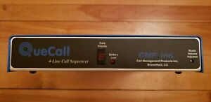 Quecall 4 Line Call Sequencer W music On Hold Mint