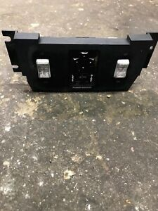 84 85 86 87 88 Fiero Center Console Panel With Power Mirror window Switches