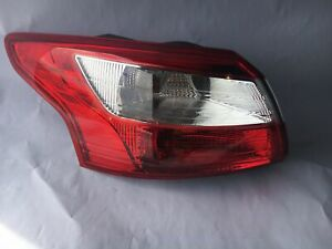 Outer Tail Light Lamp Left Driver Side For Ford Focus 2012 2014