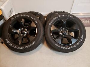 20 Inch Dodge Ram Rims Wheels Tires 2019 1500 Factory Oem Midnight Edition