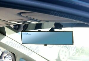 Broadway Universal 300mm Convex Blue Tinted Interior Clip On Rear View Mirror