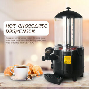 10l Electric Hot Chocolate Dispenser Warmer Machine Black Chocofairy 1000w