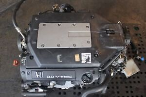 Jdm 1998 2002 Honda Accord V6 Engine Motor Long Block J30a J30a1 Honda Vtec