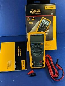 Brand New Fluke 177 Trms Multimeter Original Box