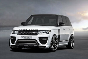 2013 Caractere Range Rover Vogue Front And Rear Fender Flares Set