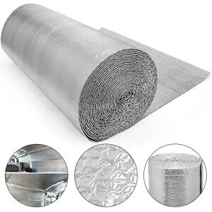 412sqft Double Bubble Reflective Foil 3 3x125ft Lightweight Water Heater Roof