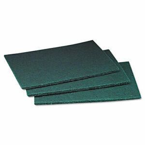 Scotch brite 96 Professional Commercial Scouring Pad 6 X 9 Green 60 case