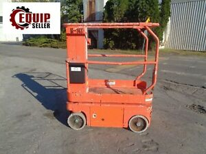 2011 Snorkel Tm12 Electric Personal Scissor Man Aerial Lift