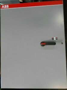Double Throw Manual Transfer Switch 600 Amp 600 V 3r Outdoor Abb Nf6003 3tb4b