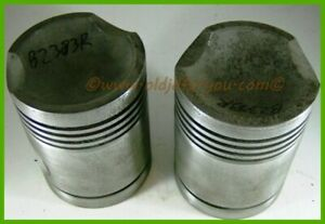 B2383r Ab3922r John Deere B 045 Gas Pistons With Wrist Pins Nice And Clean