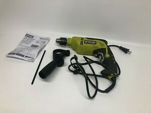 Ryobi 6 2 Amp Corded 1 2 In Variable Speed Hammer Drill D620h 0009