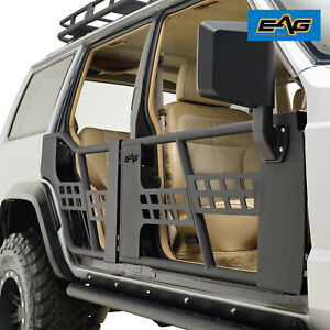 Fit For 1984 2001 Jeep Cherokee Xj Steel Tube Doors With Mirrors