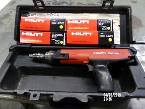 Hilti Dx 36 Semi Auto Powder Actuated Tool Fully Reconditioned Free Ship Dx36m
