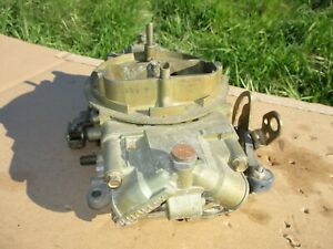 Holley Carburetor Carb 830 Cfm Double Pumper 9381 Annular Discharge Boosters