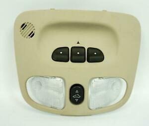 2004 06 Chevrolet Malibu Interior Overhead Console With Homelink Sunroof Switch