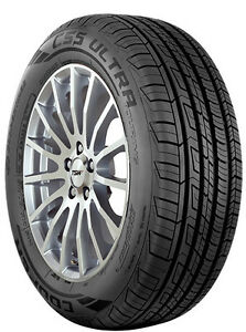 2 New 245 45r19 Inch Cooper Cs5 Ultra Touring Tires 2454519 245 45 19 R19 45r