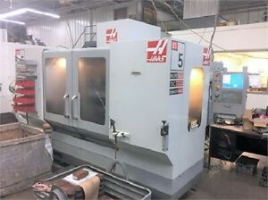 2009 Haas Es 5 tr Horizontal Machining Center