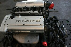 Jdm Toyota Corolla 4age Silver Top Itb Engine 5 Speed Trans Jdm 4a ge
