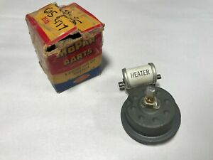 1955 1956 Chrysler Crown Imperial Nos Mopar Heater Defrost Switch 1605477