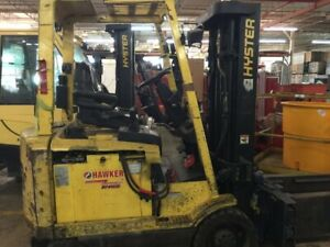 Hyster Electric Fork Lift E50xm 27