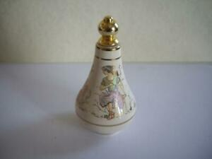 Vintage Old Beautiful Ceramic Perfume Bottle