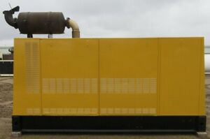 275 Kw Caterpillar Diesel Generator Cat Genset Model 3406 Load Bank Tested