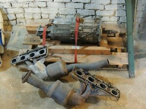 Zf 6 Speed Transmission And Exhaust Headers From A 1991 Corvette Zr 1