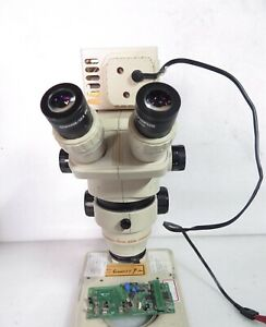 Olympus Sz6045 Chi Sz60 Microscope With Stand Gswh20x 12 5 Eyepieces