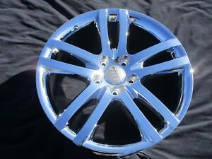 20 4 Brand New Audi Q7 Oem Chrome Wheels rims 59806 exchange