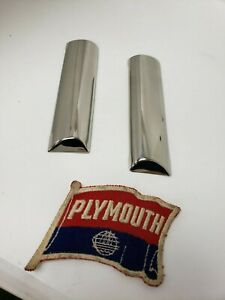 1946 1947 1948 Dodge D25 Brand New Cowl Trim Pair Left And Right Canadian Car