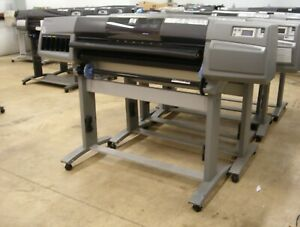 Hp Designjet 5500 42 Wide Large Format Graphic Sign Printer Plotter
