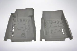 2 piece Front Row Gray Floor Mats For 2015 2019 Ford Mustang mustang Gt350 350r