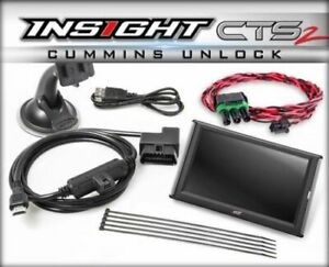 Edge Insight Cts2 Monitor Unlock Cable For 2013 2017 Dodge 6 7l Cummins Diesel