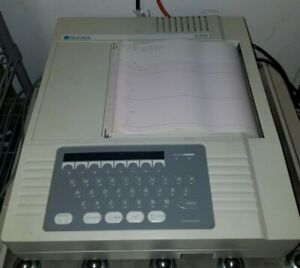 Burdick Model E350 Electrocardiograph With Patient Cable And Operating Manual