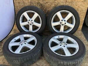 Mercedes X164 W164 Gl320 Gl450 Ml350 20 Wheel Wheels Tire Rim Complete Set Oem